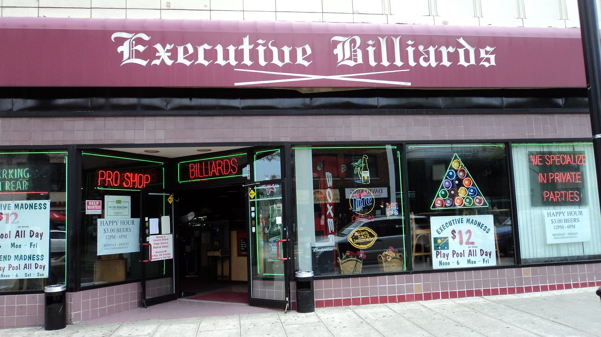 Executive Billiards